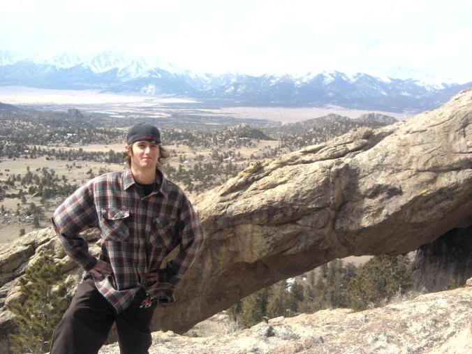 This was a hike Kade went on in Buena Vista, spring of 2012.  He went with his dad, Amy, and Autumn.  Autumn took this picture.