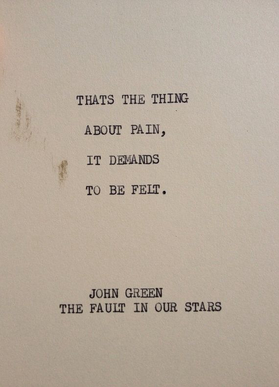 John Green Fault in our Stars Quote Image